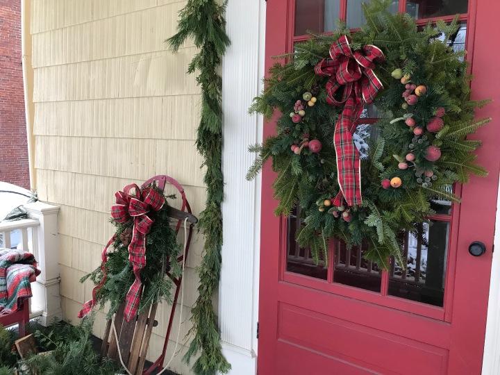 Wreath & Sled 2